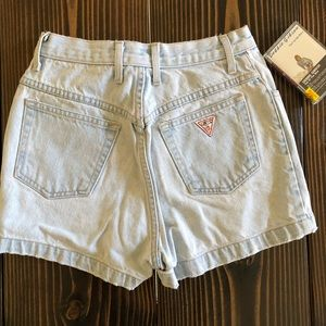 VINTAGE GUESS JEANS sz29 light-washed high-waisted